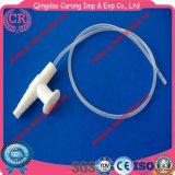 처분할 수 있는 의학 급료 PVC 흡입 카테테르 또는 흡입관