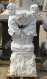 Sculpture de découpage en pierre de découpage de marbre en jardin découpée par statue pour la décoration (SY-X1195)