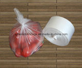 HDPE Transparent Star Seal Plastic Fruit e Vegetable Roll Bag