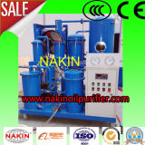 Máquina inteiramente automática fácil do purificador do óleo de lubrificação do vácuo da operação