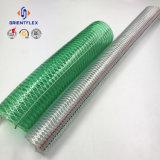 Boyau clair de pipe de fil d'acier de PVC