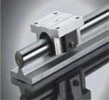 Sistema ferroviário linear de alumínio motorizado das corrediças lineares
