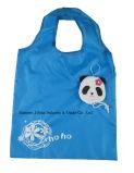 Sac respectueux de l'environnement d'achats pliables, panda animal de canard, sacs réutilisables, d'épicerie et maniable, promotion, poids léger, accessoires et décoration