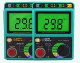 지능적인 센서 AS907A+ 절연 저항 검사자 범위 1Kohm~2000Mohm 측정 낮은 가치 저항기 힘 저항 검출기