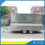 Camion de remorque mobile de nourriture de Yieson