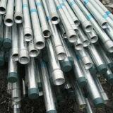 tubo d'acciaio galvanizzato caldo del tubo dell'armatura di 48mm