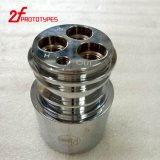 Pieza de torneado de la precisión de aluminio de la pieza del CNC de la alta calidad que trabaja a máquina