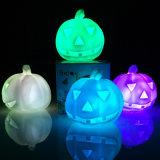 Halloweenの昇進のカボチャLED蝋燭ライト、LED夜ライト