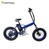 """20 """"脂肪質のタイヤの雪のEbikeの電気自転車を折る電気マウンテンバイク"""