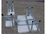 Складные столики и стулы алюминиевого сплава соединиенные
