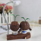 Lampe créatrice de résine de la promotion DEL, lampe d'intérieur pour le cadeau à la maison de décoration
