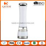 Molino de pimienta automático vendedor superior de la sal del color metálico de encargo