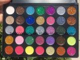 Nueva gama de colores del polvo de la vibración excesiva del polvo del brillo del color de Morphe 35 de la llegada