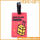 Prix ​​d'usine Custom Soft PVC Rubber Luggage Tag