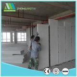 Painéis de parede isolados pré-fabricados do sanduíche do cimento do EPS do telhado da parede de divisória do baixo custo