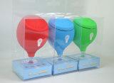 Drahtloser beweglicher wasserdichter Bluetooth Lautsprecher mit starkem Absaugung-Cup