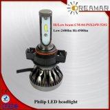 車、使用できるH7/H3/H11/6h8/H9/H4/9004/H13のためのSingle/Hi低いビームLEDヘッドライト