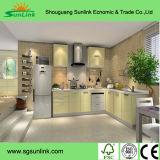 Home Furniture Portes d'armoires de cuisine en PVC (HF-1077)