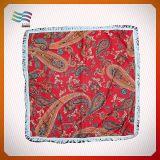 カスタムロゴのフットボールの競争ヘッド絹のスカーフ(HYS-AF026)