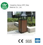 Caixote de lixo ao ar livre fácil da instalação WPC