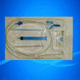 중앙 정맥 카테테르 장비 또는 카테테르 Hickman 중앙 정맥 카테테르