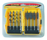 Ferramentas manuais 8PCS Wood Bore Drill Bit Set Accessories