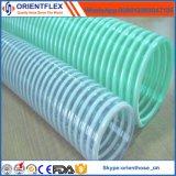Mangueira colorida flexível da sução do PVC
