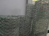 電流を通された熱い浸された六角形ワイヤー網