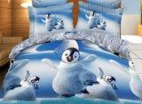 4PCS Polyester 100% Comforter Set