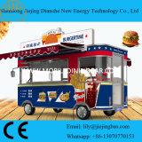 Caminhão do hamburguer do serviço do fast food da necessidade dos negociantes de caminhão do alimento