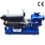 Pompe à eau à ordures centrifuges Auto-amorçante de série T