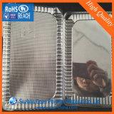 Folha transparente do PVC de uma espessura de 400 mícrons usada para o recipiente redondo