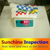 Controllo di qualità/controllo della moquette del Doormat/del tessuto del tovagliolo