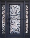 Superqualitätseisen-Eintrag-Türen mit Sidelites Haustür