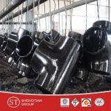 De Montage van de Pijp van Buttweld van het T-stuk van het staal
