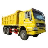 HOWO 6X4 구동 장치형 30t Zz3257n3647A 덤프 트럭