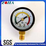 هواء مقياس يشكّل مقياس هوائيّة مع أسود فولاذ حالة مقياس مزدوجة ثلاثة لون لأنّ إنذار