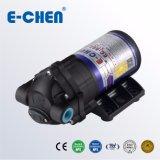 E-Chen 802 Serie 75 Gpd Bomba de Agua Compacta de Aumneto de Presión de RO de Diafragma