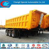Low Price를 가진 Sale를 위한 50ton Sand Stone Carrying 무겁 의무 3 Axle Tipper Truck Trailer