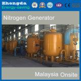 Planta nova da geração do nitrogênio da peneira molecular PSA do carbono do projeto para o enchimento da grão