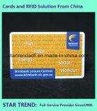 Pvc van de Vorm van het lidmaatschap Kaart Gemaakt StandaardCr80