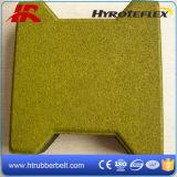 Изготовление плитки косточки собаки блокировки квадрата высокого качества резиновый