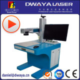 Высокая точность машина маркировки лазера волокна 30 ватт миниая, портативная печатная машина лазера металла для пластмассы, камня