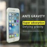 Adsorption nanoe de couverture anti-gravité complet transparente de l'iPhone 7plus pour la caisse de téléphone de Samsung