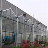 Ventilcation 단 하나 미닫이 문 및 시스템을%s 가진 알루미늄 프레임 폴리탄산염 장 Prefabricated 온실
