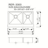 스테인리스 수채 제조자, 스테인리스 산업 부엌 개수대