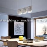 Luzes pendentes brancas de acrílico de alta qualidade para lâmpada de sala de jantar