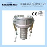 Aluminio conector rápido en todos los tipos de aluminio Camlock de acoplamiento