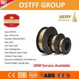 Glatter beständiger Schweißens-Draht Aws Er70s-6 (0.9mm D100/D200/D270/D300) Lichtbogen-China-MIG