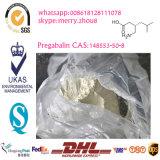 Anticonvulsantの神経化学物質のための薬剤の未加工粉Pregabalin 148553-50-8